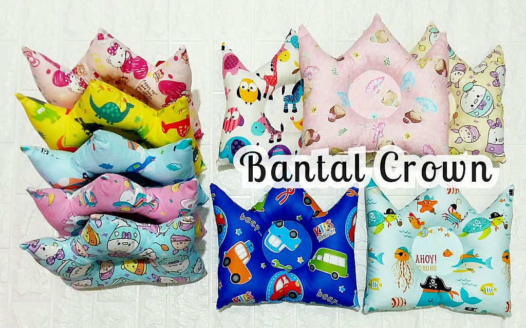 PL234 - Bantal Crown isi 6 pcs mix motif